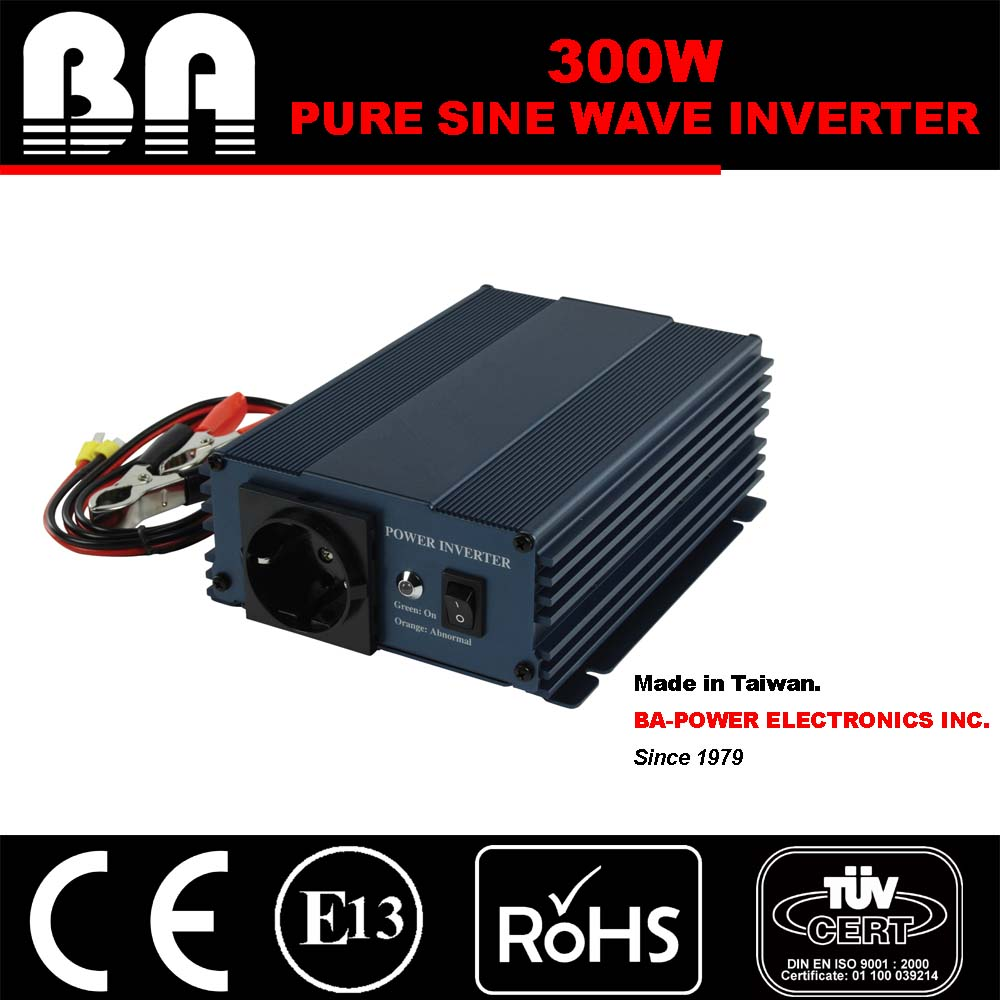300W Pure Sine Wave Power Inverter 24V DC - 115V AC