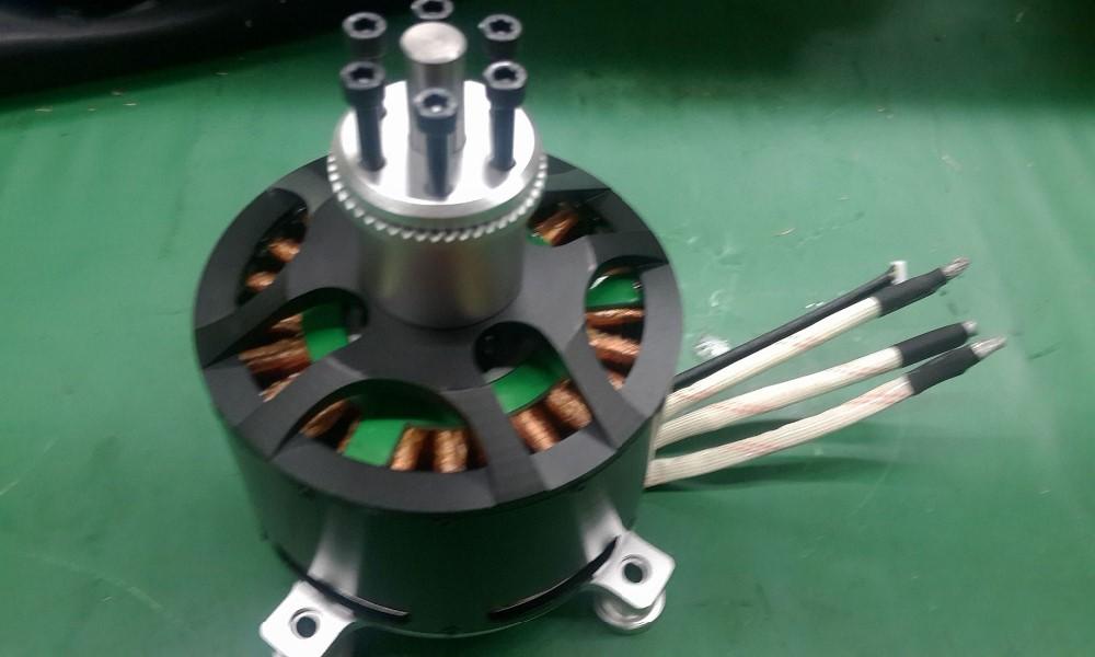Hot sale mp12090 80kv sensored brushless motor with 40kg for 50 kg thrust brushless motor
