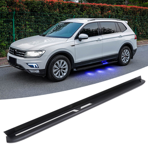 2018 VW Tiguan Allspace: Redesign, Trims, Price >> Wholesale Resale 2018 2017 Tiguan Trendline Allspace Auto Running Board Side Steps With Light Used For Vw