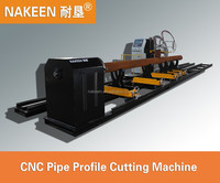 high quality cnc pipe profile plasma cutting machine made in china
