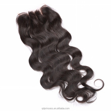 Hot Selling Indian Body Wave Hair Lace Closure Hidden Knots 6A Grade 100% India Human Hair Lace Closure Body Wave