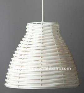 PE rattan waterproof garden chandelier