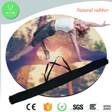 Custom Printed ECO Yoga Mats with Bag Exercise Rubber Round Yoga Mat Eco friendly