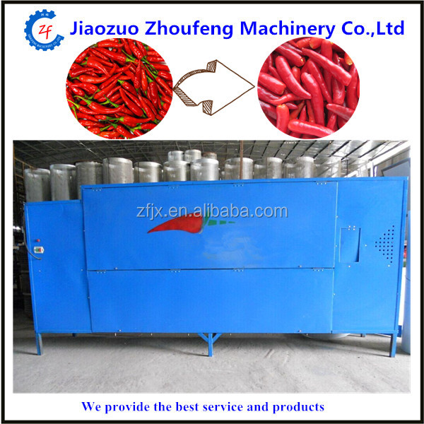 Commercial red pepper tail cutting machine automatic dried chili stem removing machine