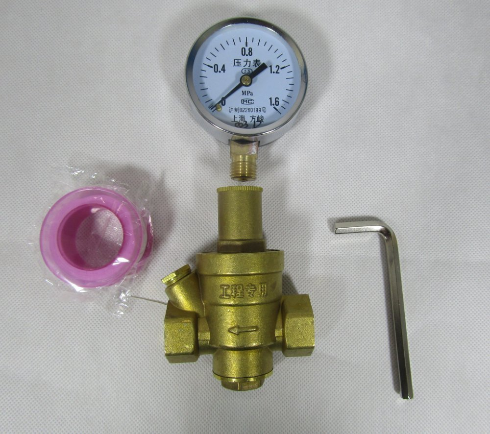 Buy Camco Brass Water Pressure Regulator With Gauge Helps Protect Rv Plumbing And Hoses From High Pressure City Water Easy Read Gauge Lead Free 40064 In Cheap Price On M Alibaba Com