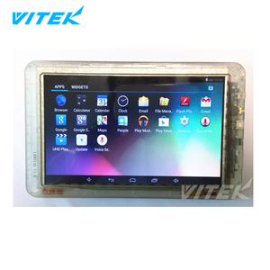 New 1G 8GB/16G/32GB 7inch clear Transparent tablet PC