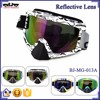 BJ-MG-013A Manufacturer Adult Reflective Beard Frame custom racing motorcycle goggle