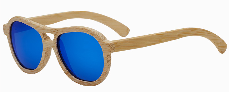 Brightlook colorful design wooden sunglasses 2019