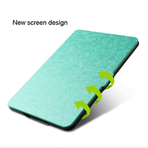 New products 2017 For Kindle Oasis cover pu leather protective waterproof tablet case with printed pattern