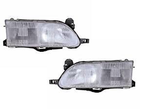 Toyota Corolla Sedan/Wagon New Headlights Set Headlamps Pair
