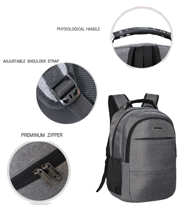 Travel laptop backpack bags with USB charging port water resistant college school business computer bag