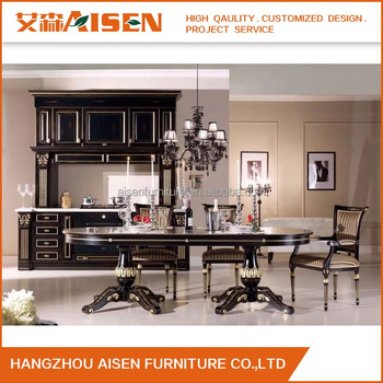 2017 Newest Style Import Kithchen Products Wood Kitchens With ...