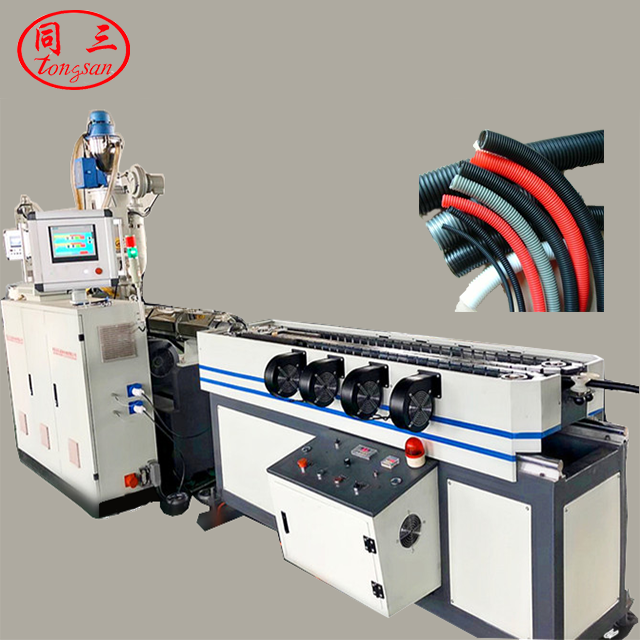 PP/<strong>PE</strong>/PVC/EVA/PA single wall corrugated hose pipe production machine line