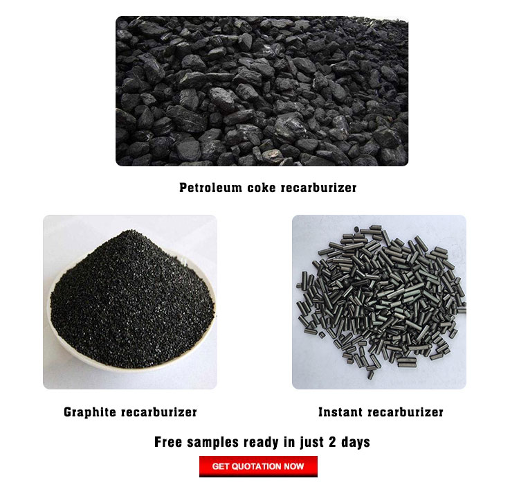 Factory direct sale low nitrogen petroleum coke recarburizer carbon additive for steelmaking price