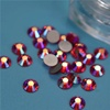 Flat back glass stone factory Wholesale AB rhinestones fancy glass stones for jewelry making garments decor