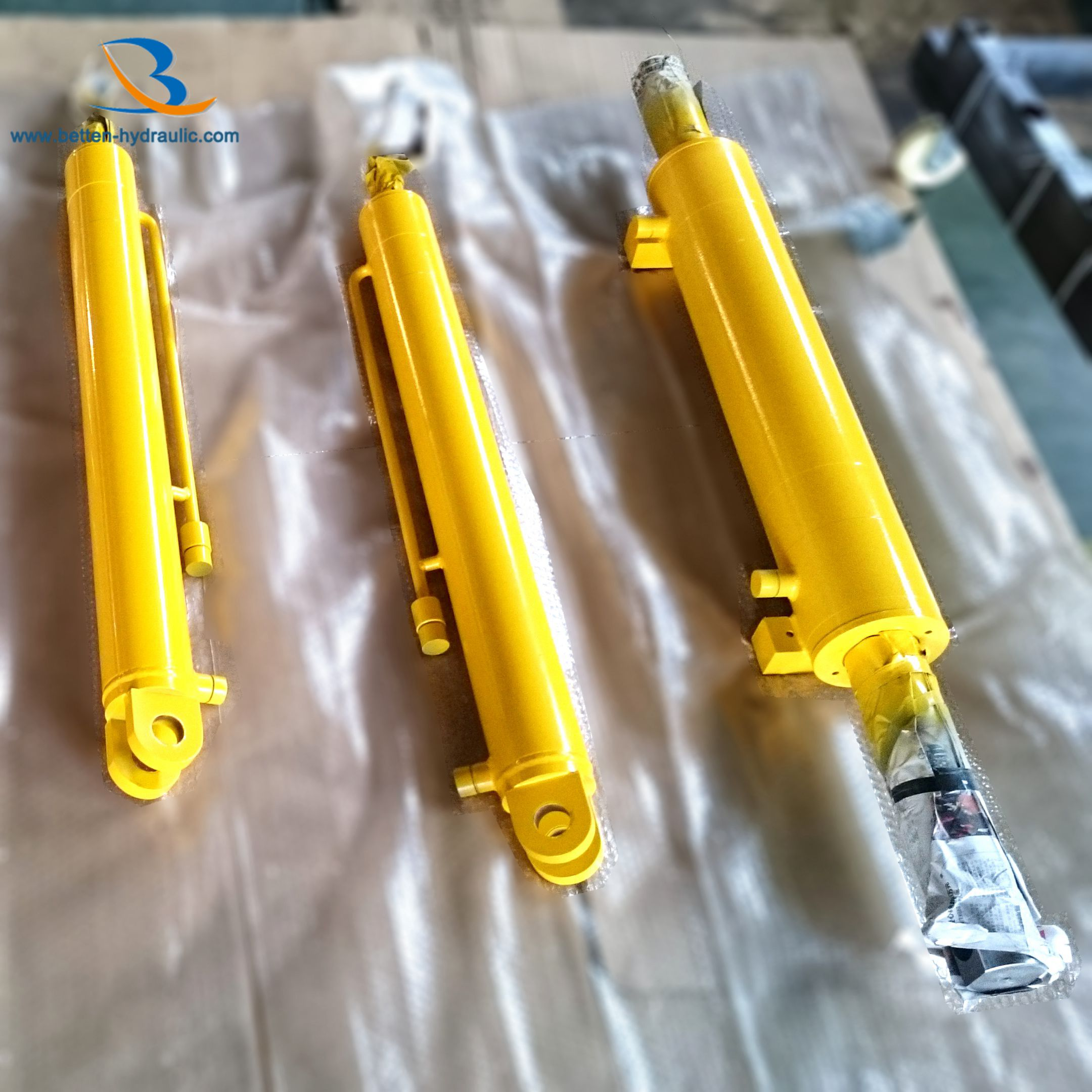 Double Ended Welded Hydraulic Cylinder For Forklift