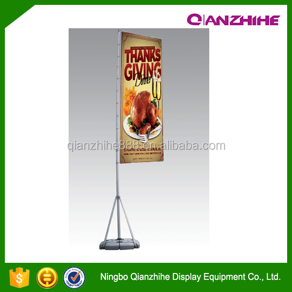 2016 news product China beach flag maker factory