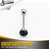 Free sample and freight collect tongue barbell piercing , tongue ring , body piercing jewelry