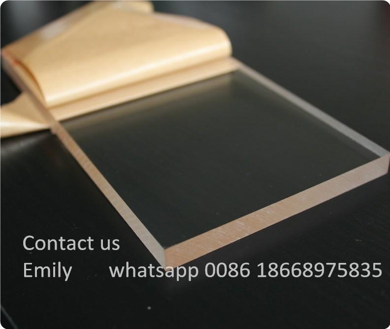 Wholesale Clear Colored Decorative Cast Plexiglass Pmma