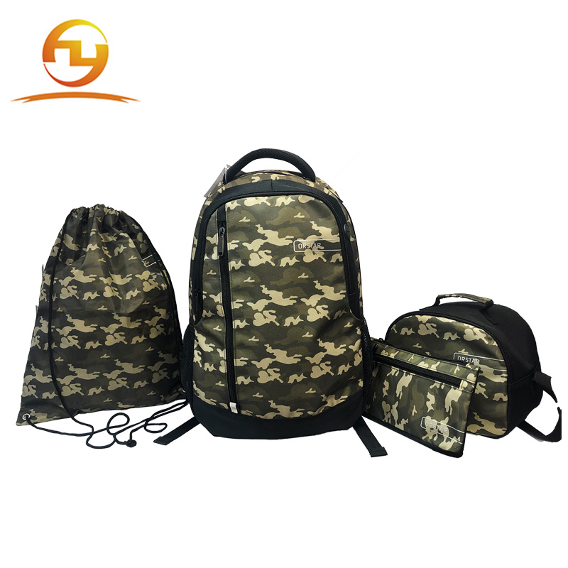 Cheapest  price sports camo gymbag polyester drawstring shoe bag
