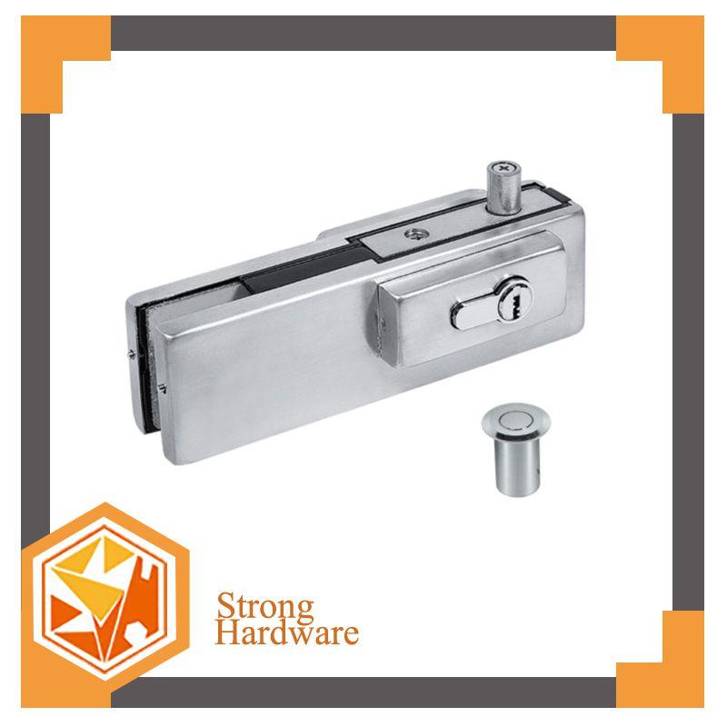 SF-053 Frameless glass door lock dorma glass door patch fitting