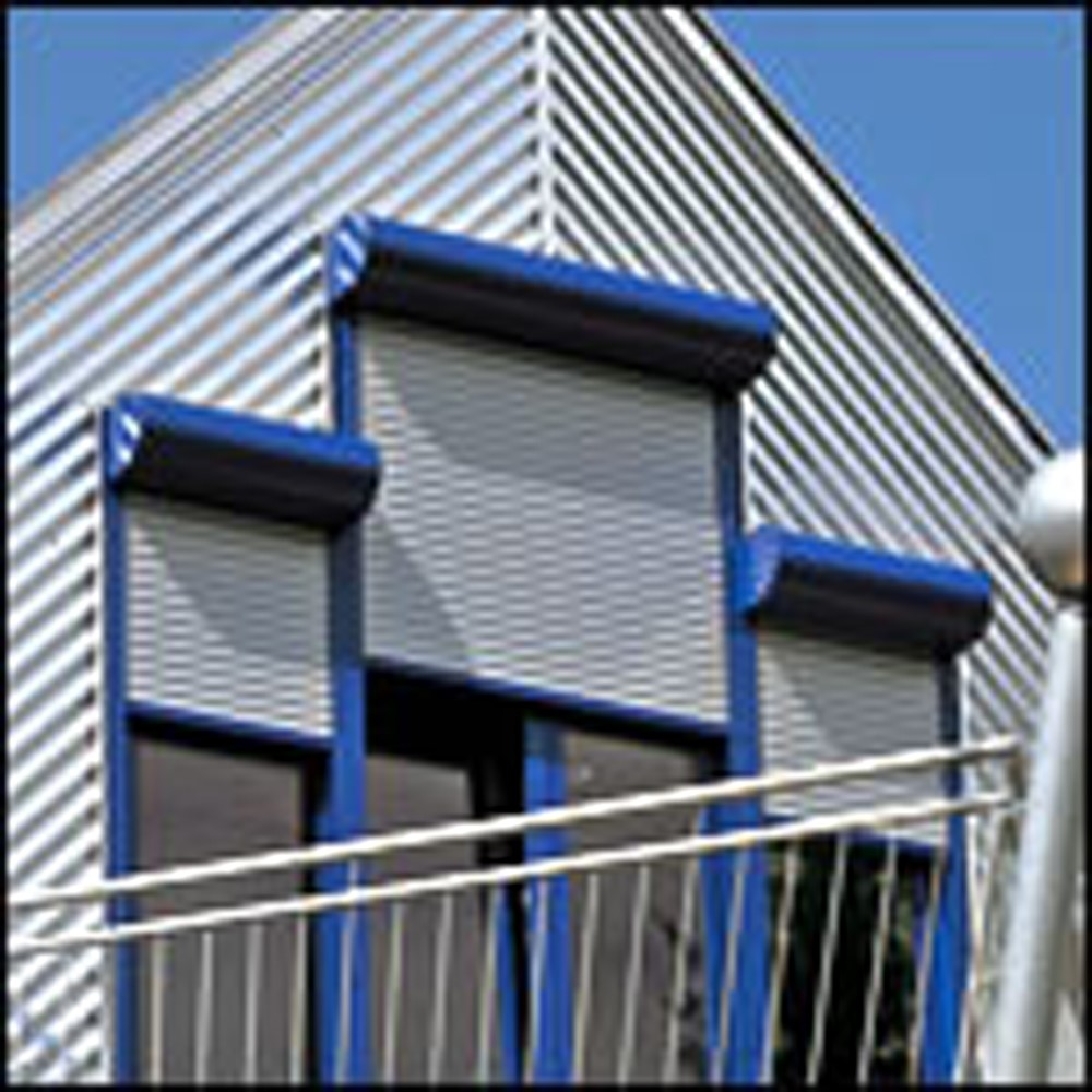 strong superior quality electric hurricane roller shutters