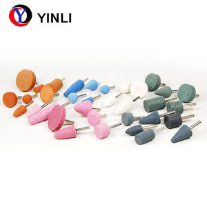 Assorted Rubber Mounted Points Grinding Stone