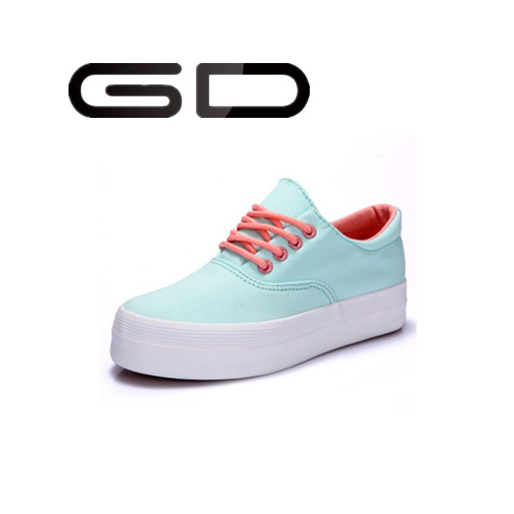 Wholesale Woman Sneaker White Flat Shoes Casual Women Shoe