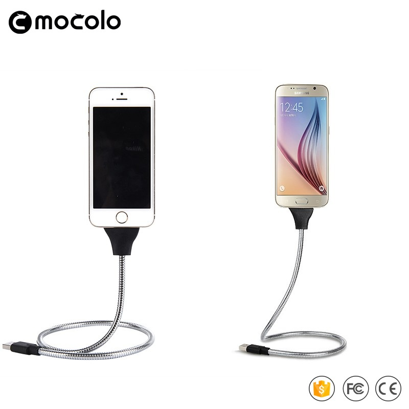 Hot selling Top A quality Metal Connect usb data cable for Iphone and android