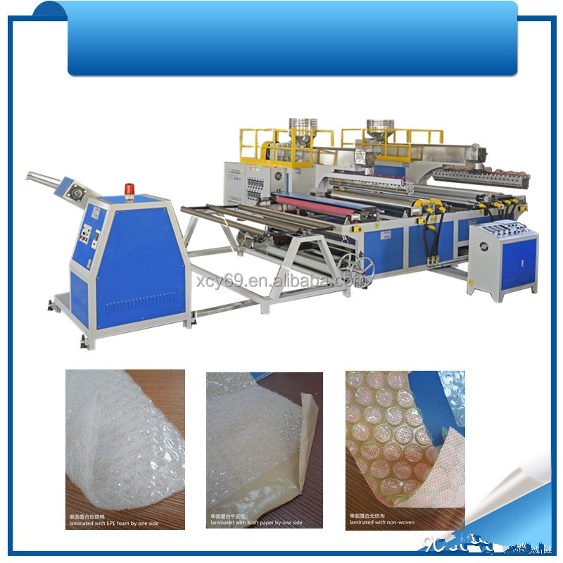 Automatic high speed Bubble sheet making plant MX-W40D