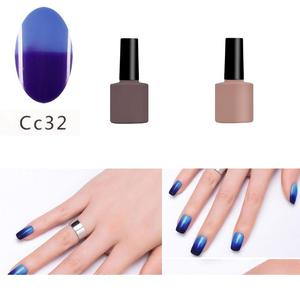 Mood Temperature Changing Gel UV Soak Off Nail Gel Polish Colour Changing UV Gel