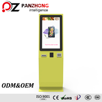 Self service Terminal 32 Inch Floor Standing Self Ordering Kiosk with QR Code