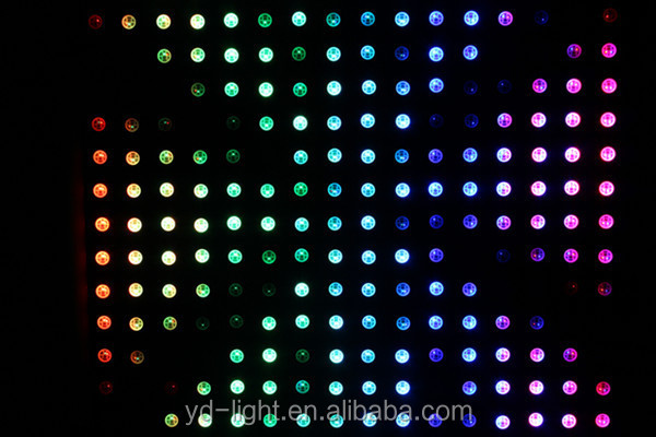 """ 8x8 round 5mm rgb dot matrix led display, promotional item with 3 years guarantee"