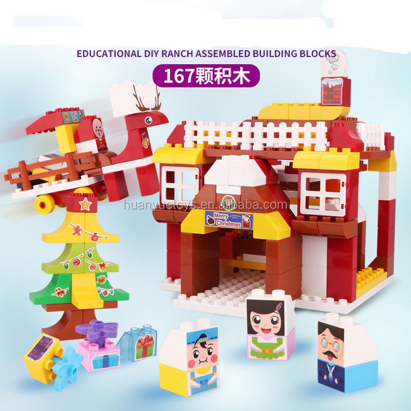 Pour La Jouet Noël Avec Maison De Jouets Scène Puzzle Creative 8O0nwPk