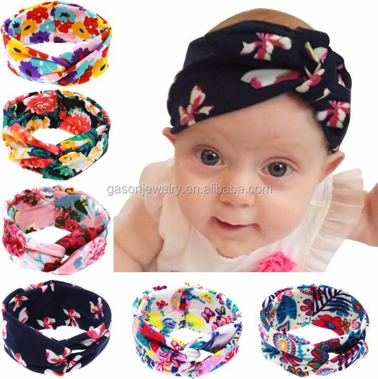Yiwu Factory Wholesale Fabric Knot Headband Baby Buy