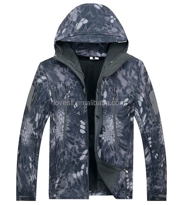 Different Color Jacket Army Ranger Men's Shark Skin Lurker Military Jacket Waterproof Softshell Jacket