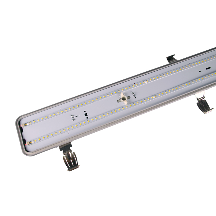 Parking Lot Lighting Watts Per Square Foot: 110lm/w Smd 2835 Led Ip65 Tri-proof Light For Underground