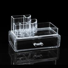 Christmas decoration acrylic makeup cosmetic organizer box