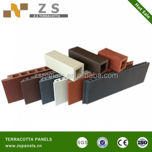 Low cost Outside Fired Decorative wall panel tiles,decorative wall tile terracotta , building construction wall panel terracotta