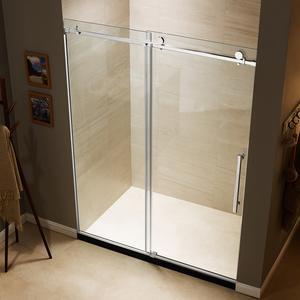 Rolling Glass Shower Doors.Better 5 16 Glass Roll Sliding Shower Door