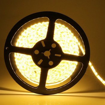 12 V 120 LED/m 5 m /lot 2835 LED strip flexible light white warm white 2835 waterproof led strip light