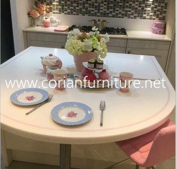 Made in china custom design corian kitchen table buy corian made in china custom design corian kitchen table watchthetrailerfo