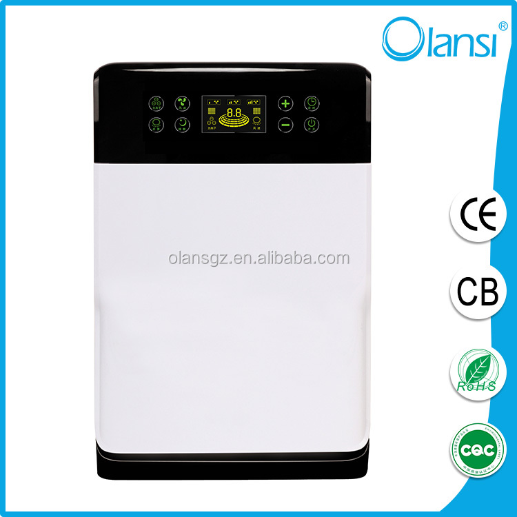 Air purifier with oxygen generator remove cigarette smoke with esp air filter