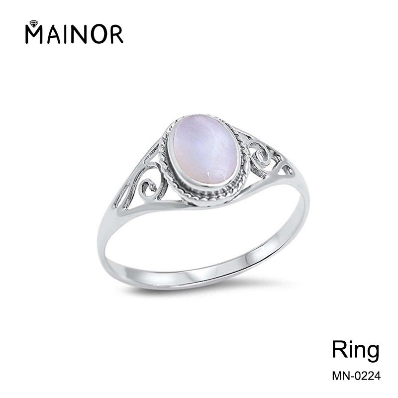 Freshwater Pearl .925 Sterling Silver Ring Sizes 3-11 Jewely Rings