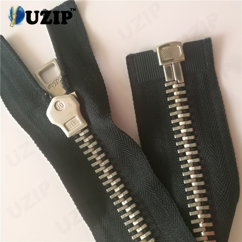 Guangzhou China coat zippers suppliers no 10 zipper and antique silver zipper
