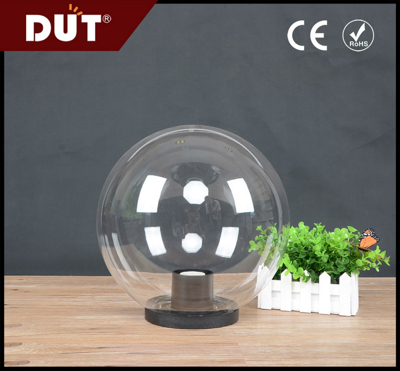 waterproof will not change color PMMA plastic outdoor ball light cover