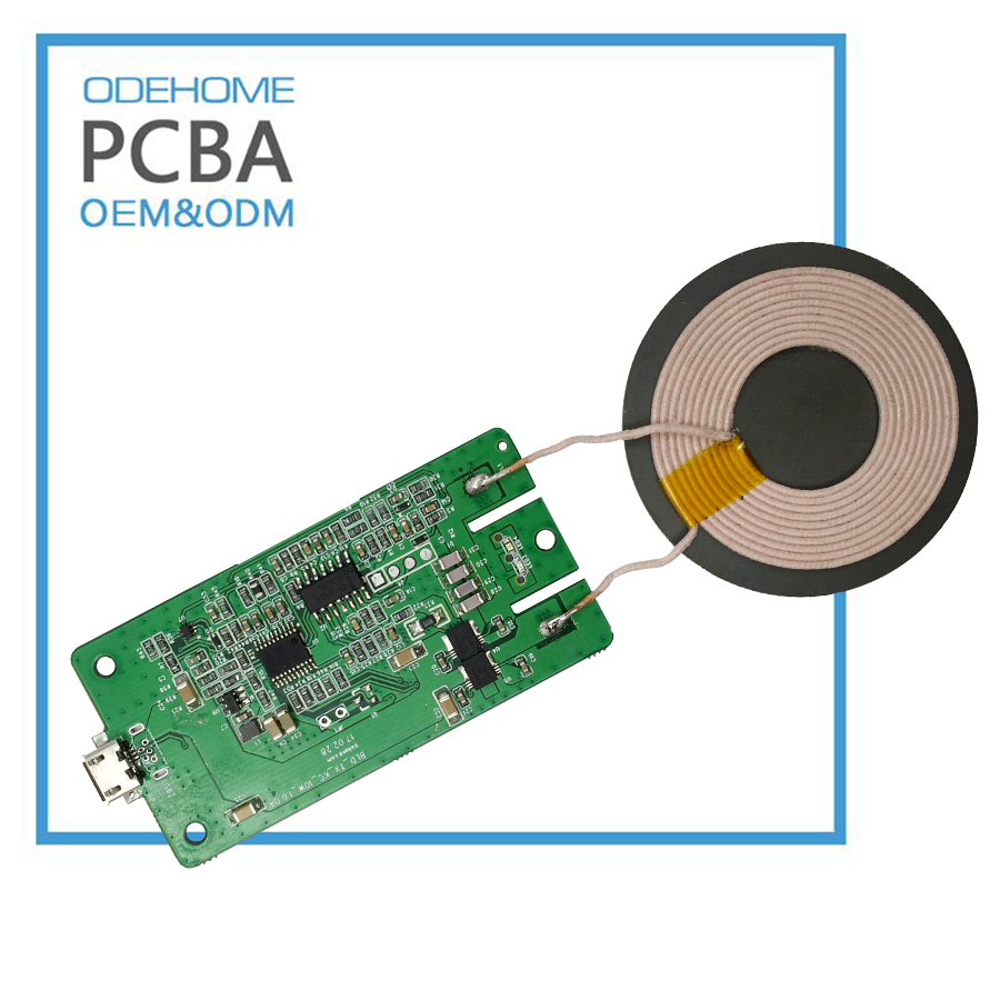 10W Fast Wireless Mobile Charger Qi Transmitter PCB