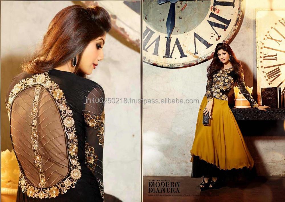 Designer Indian Pakistani Heavy Handwork Anarkali Suits R1257 ...