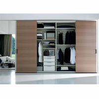 European Style Customized Sliding Door Wardrobe Designs For Bedroom,China Factory