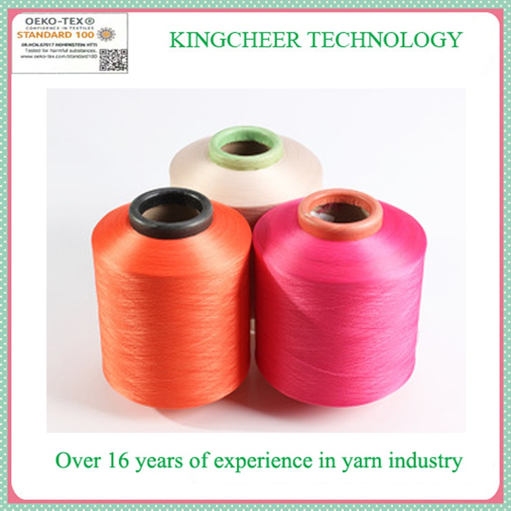 Polyester covered spandex yarn 2075 for sock knitting machine